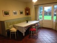 Mrs Walsh's Cottage kitchen table