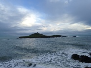 Moody Ballycotton Island (with its own lighthouse)