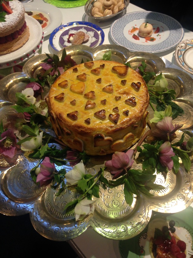 And the finished Simnel cake