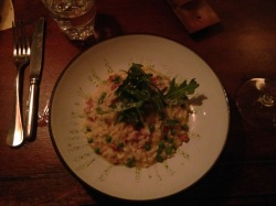 The Risotto. Amazing. Chorizo and pea and made with Iberico ham stock. So so SO good.