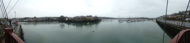 A panoramic from Kinsale Harbour