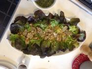 Warm Salad of Jerusalem Artichokes and Hazelnuts