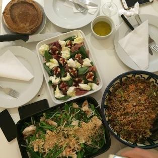 My 3 salads for Ladies salad night