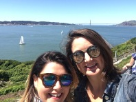 Reems and I at Alcatraz